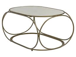 mix vintage coffee table 1 brushed gold marble