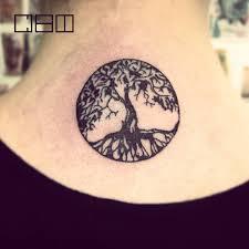 тату дерево жизни фото