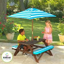 patio set image of outdoor furniture sets kidkraft table bench with cushions umbrella navy 00106 comments
