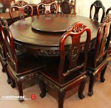huskoutdoor husk straw chair muscle hotel model room furniture dongyang mahogany red wood dining table round european classical cochin rosewood