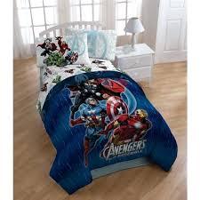 avengers bedding forter marvel full size set double comforter