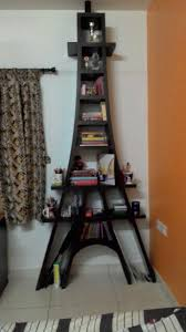 eiffel tower bookshelf with images