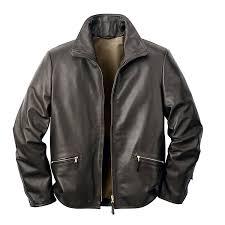men s horsehide roadster jacket black brown