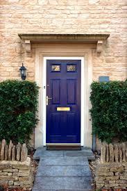 blue front doorCool Blue Front Doors Residential Homes House Green Door Farrow