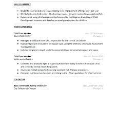 Day Care Resume Daycare Teacher Resume Child Care Resume Sample Download Daycare