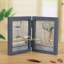 pictures show folding rustic wood