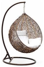 Trully - Outdoor Wicker Swing Chair - The Great Hammocks. I love swings and  hammocks