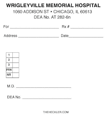 Hospital Doctors Note Template Danafisher Co