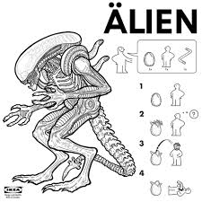 Ikea Instruction Manuals Ikea Instructions How To Make Your Very Own Movie Monsters