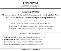 Examples Of Summaries For Resumes Summary For Resumes Executive Summary Resume Examples Executive