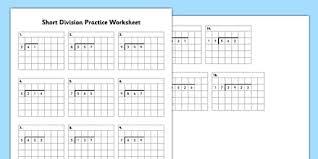 Grid Paper Division Practice Worksheet Worksheet Short