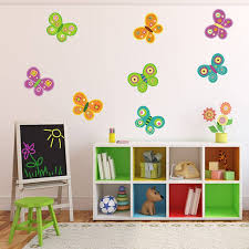 erfly fabric wall stickers