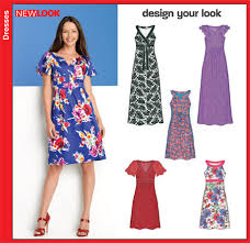 New Look Patterns Inspiration New Look 48 Misses Dresses