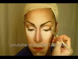 drag queen makeup fast tutorial