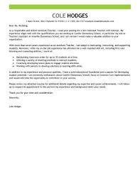 Teacher Assistant Cover Letter Samples Teacher Assistant Cover Letter Sample Best Examples Livecareer