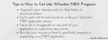 want to know how to get into wharton mba program get all that you  want to know how to get into wharton mba program get all that you need to know on this website coach mba com ways how to get into whart