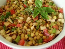 Image result for Receita Salada de Lentilhas