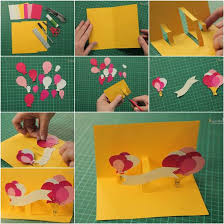 Could Do This With Any Confetti Hearts Or Balloons Too  Card Card Making Ideas For Birthday