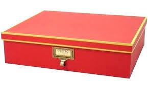 Decorative Document Storage Boxes