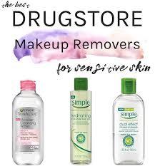 best makeup removers for dry sensitive skin facemaskforspots