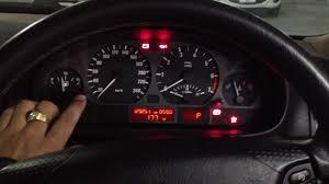 2000 Bmw 323i Transmission Light On Bmw 323i E46 Dashboard Test