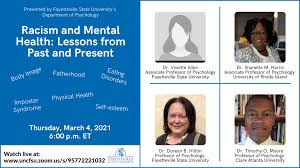 Racism and Mental Health: Lessons from Past and Present – FSU News