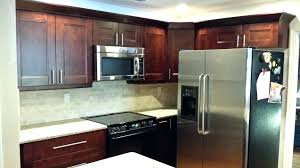refrigerator cabinet surround custom panels how to build built in dimensions trim kits small fridge kit