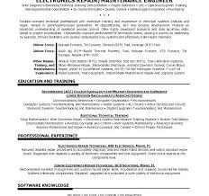 Sample Resume For Electronics Technician Electronic Technician Resume Sample Electronics Technician Resume
