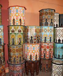 moroccan inspired furniture. Moroccan Painted Furniture Inspiration. Tables 3 Inspired O