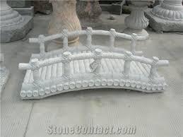 garden bridge stone bridge granite