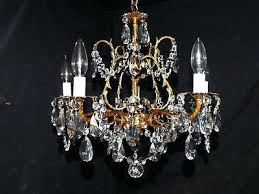 antique brass crystal chandelier antique brass and crystal chandelier circa 6 lights home collection adeline crystal