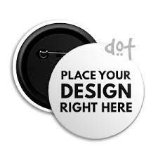 Online Badge Pin Back Button Badge