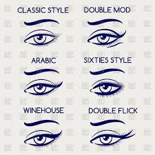 woman eyes makeup eyeliner makeup vector image vector ilration of beauty fashion to zoom
