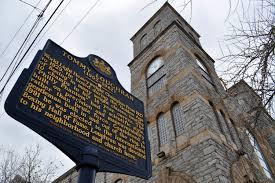City Light Church Philadelphia File Tommy Loughran Historical Marker 2400 S 17th St