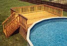 N 24u0027 Round Pool Deck Plans  Decks