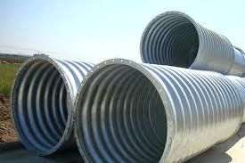 corrugated culvert pipe dpt terrin steel home depot metal sizes 6 inch drain