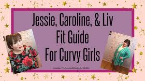 Llr Caroline Size Chart New Lularoe Styles Fit Guide Jessie Caroline Liv