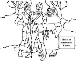 Small Picture Robin Hood Back in Sherwood Forest Coloring Pages Best Place to