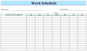 Server Schedule Template Restaurant Server Schedule Template Restaurant Server