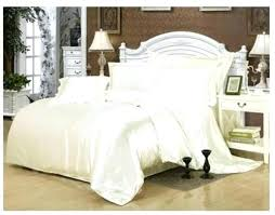 cream bedding set silk cream bedding set white satin super king size queen full twin quilt duvet cover bed in a bag sheet fitted bedspread brown duvet cover