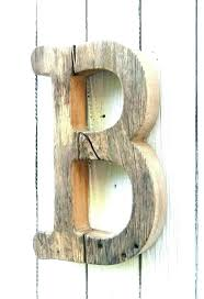 wooden letter wall decorations nursery letters decor unfinished barn wood b typewriter font for alphabet art large wall letters rustic shabby chic wooden