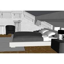 Progettazione Camera da Letto mansardata 1311 - ARREDACLICK