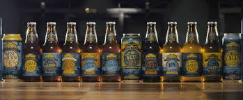 the lineup of all twelve beers in the sierra nevada beer c across the world 12 pack image courtesy of sierra nevada brewing