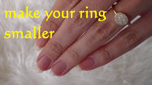 diy resize ring smaller how to make a ring smaller life resize a wedding ring you