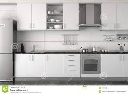 interior design kitchen white. Interior Design Of Modern White Kitchen