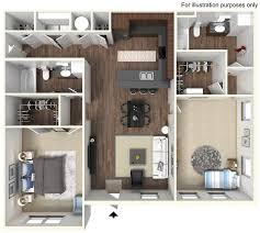 Inquire Now About Our Two Bedroom Apartments!
