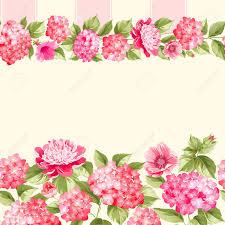 pink flower border with tile elegant vintage card design roses fl wallpaper