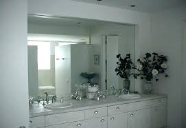 large frameless mirror. Frameless Wall Mirrors Large Beveled Round Big Full Size Of Mirror Architecture Bathroom Medium Images With Renovation Extra Frame Aithleyo.win: Gym. Living Room Mirrors. Black