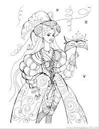 Coloring Pages Of Princess Princess Coloring Pages Coloring Page