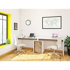 Liber-T Home Office Kit with Two Reversible Desk Panels